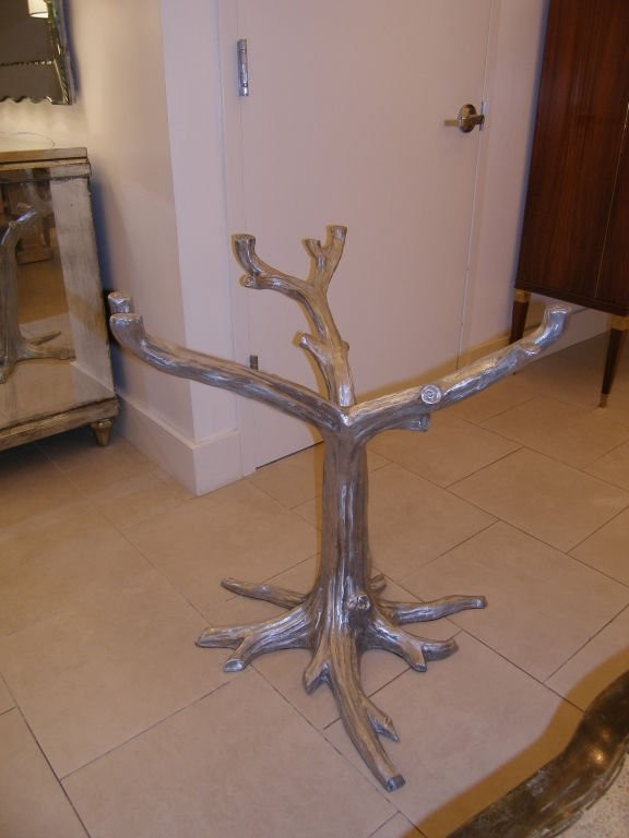Cast Aluminium Tree Table Base Dining Room Tables