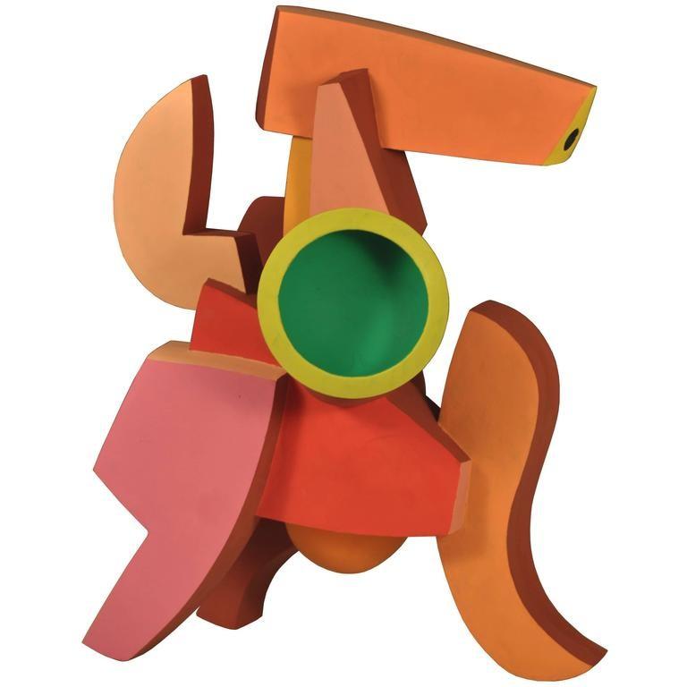 Abstract Ceramic Sculpture by Doug Herren