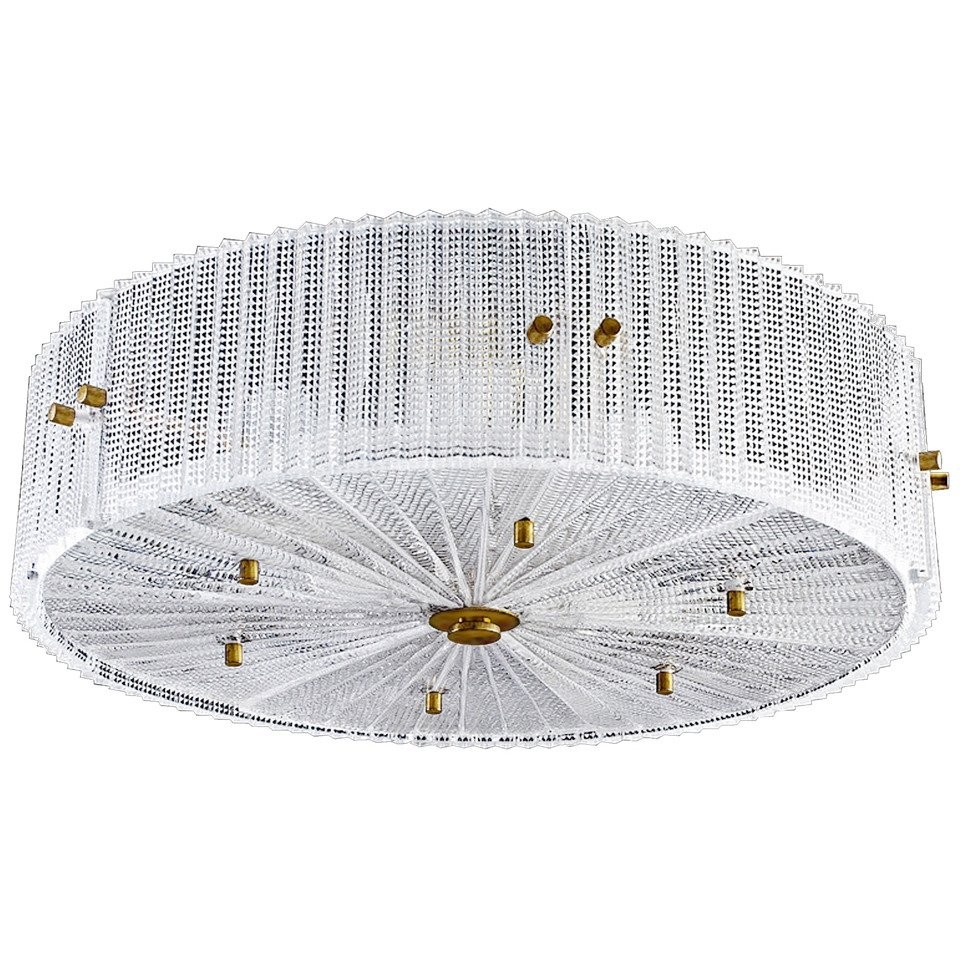 Carl Fagerlund for Orrefors Glass Chandeliers