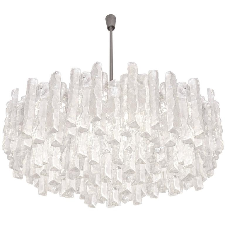J t kalmar thick textured clear glass chandelier chandeliers and j t kalmar thick textured clear glass chandelier chandeliers and pendants lighting inventory aloadofball Gallery