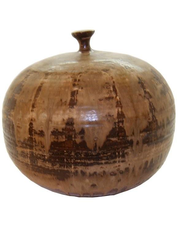 Round Ceramic Vessel