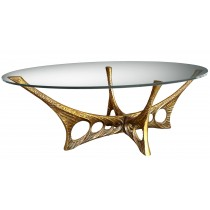 Abstract Bronze Coffee Table by Willy Ceysens (1929 - 2007)