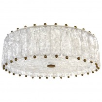 Textured Glass Fixture by Venini