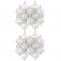 Pair of J. T. Kalmar Tulipan Glass Sconces