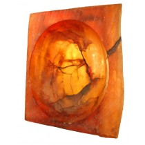 Signed Seena Donneson Cast Acrylic Sculpture from the Journey Series