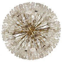 Austrian Large Flower Ball Chandelier