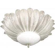 Large Barovier & Toso Flush Mount Chandelier