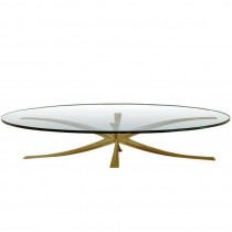 Cast Bronze Coffee Table by Michel Mangematin