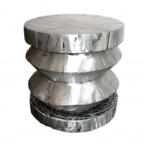 Cast Aluminium Stool or End Table