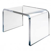 The Extrados Lucite Desk / Table by Craig Van Den Brulle