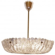 CARL FAGERLUND FOR ORREFORS CRYSTAL CHANDELIER