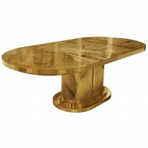 Signed Armand Jonckers Etched Bronze Dining Table