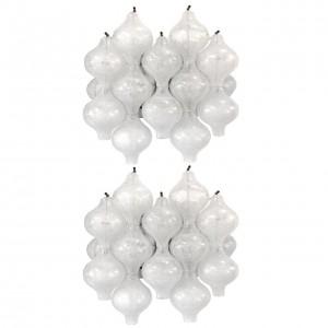 Pair of J. T. Kalmar Tulipan Glass Sconces