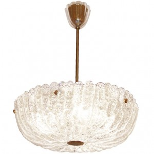 Carl Fagerlund for Orrefors Crystal Chandelier / 3 Available