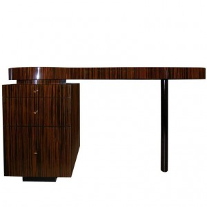 Macassar Ebony Desk