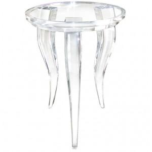 Crenelle Side Table Designed by Craig Van Den Brulle