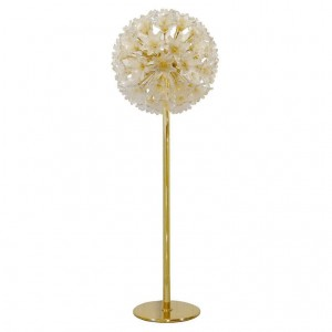 Murano Glass Flower Ball Floor Lamp
