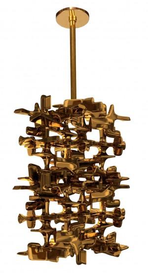 Roen Cast Bronze Pendant by Craig Van Den Brulle