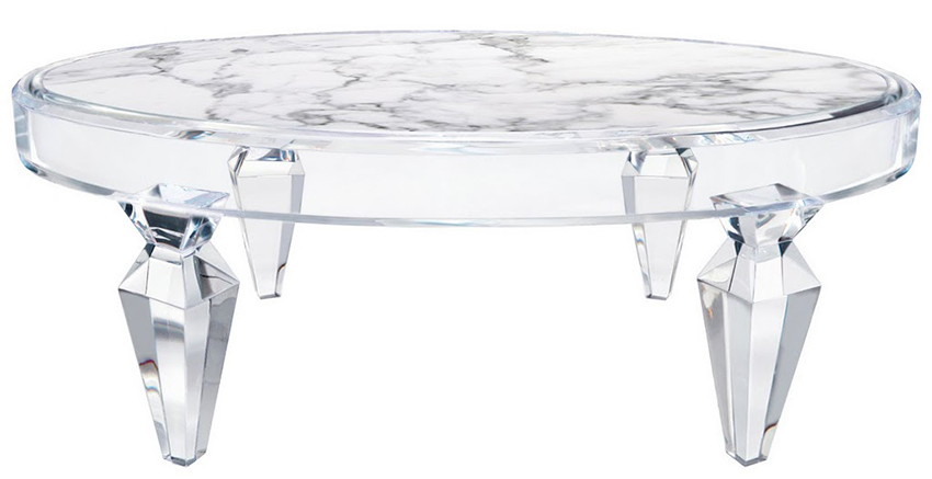 Oval Avenire Coffee Table Table Vdb collection
