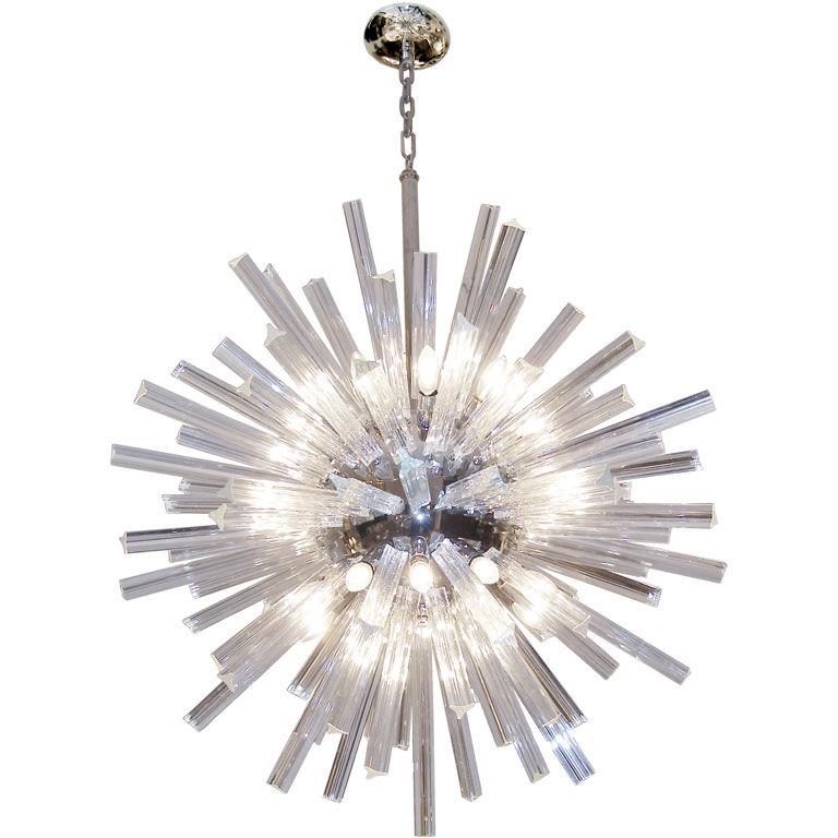 Large crystal snowflake chandelier lighting vdb collection crystal snowflake chandelier mozeypictures Choice Image